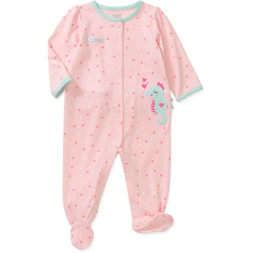 6c7e29377 Child of Mine by Carters Newborn Girl Sleep n Play  Baby Clothing ...