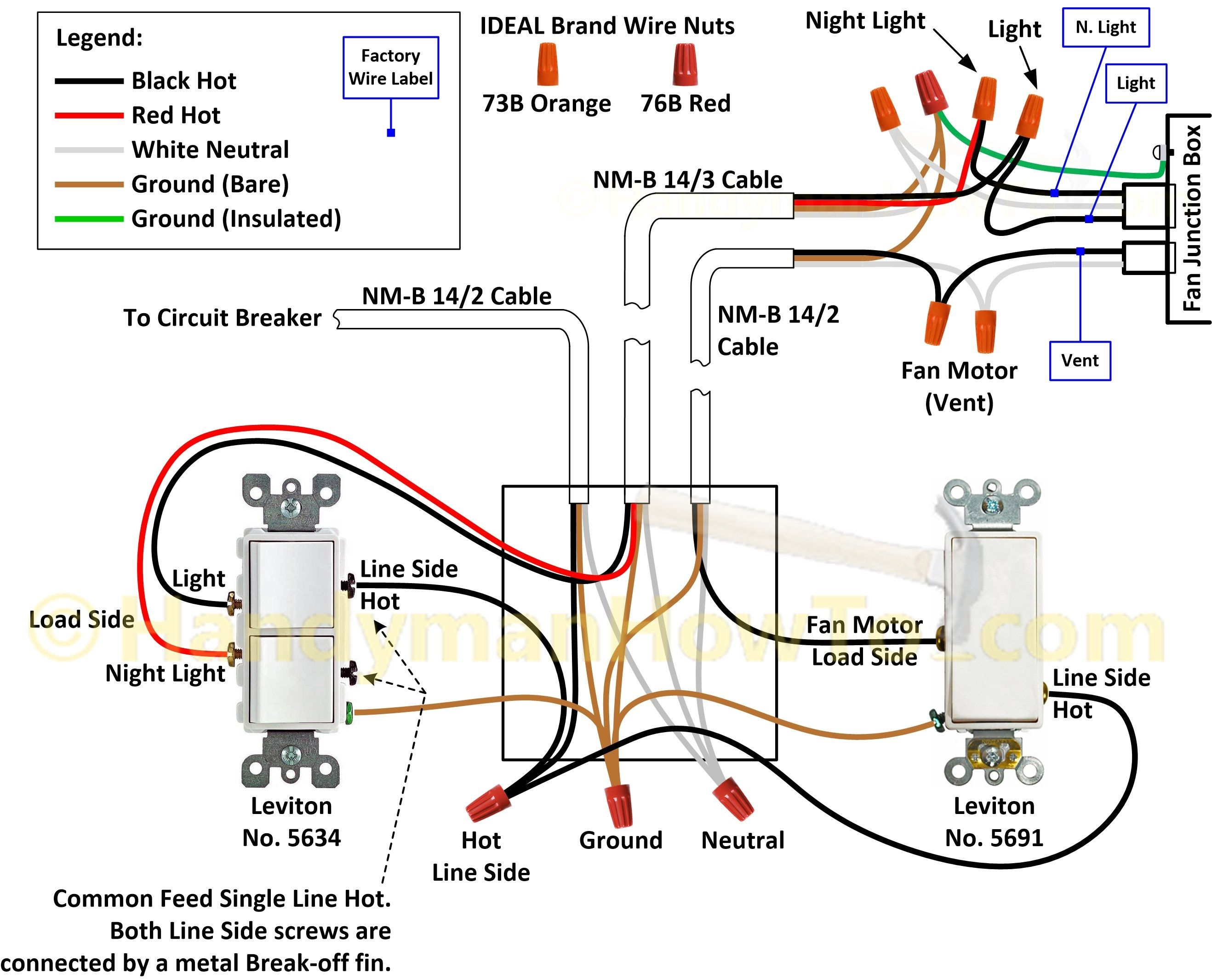 Bathroom Light Fan Switch Wiring Diagram Schematics Diagrams M151 A Exhaust U2022 Rh Autonomia Co Bath Heater