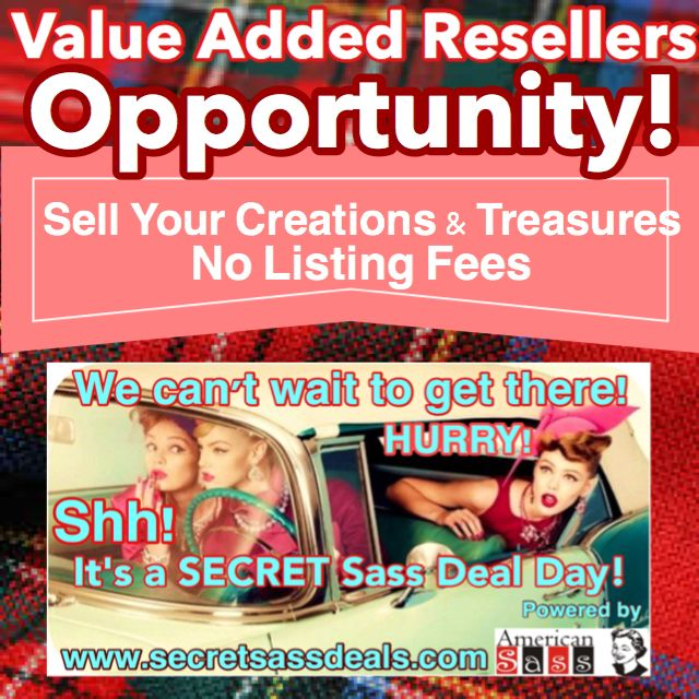 Sell your creations and treasures!