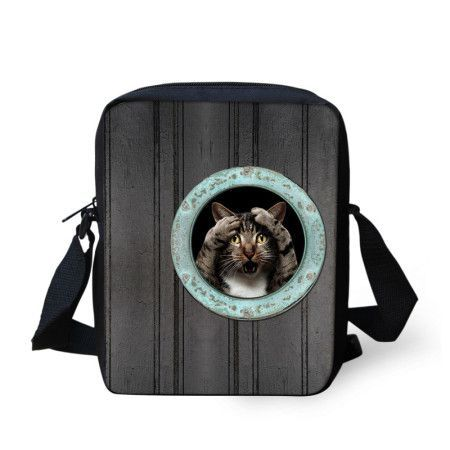 2015 women messenger bags fashion animal crossbody bag for girls tiger owl small shoulder bag men travel bag casual mini bolsos