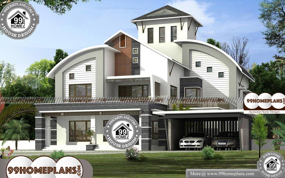 New Modern House Design With Contemporary Home Plan Collections Kerala House Design New Modern House Modern House Design