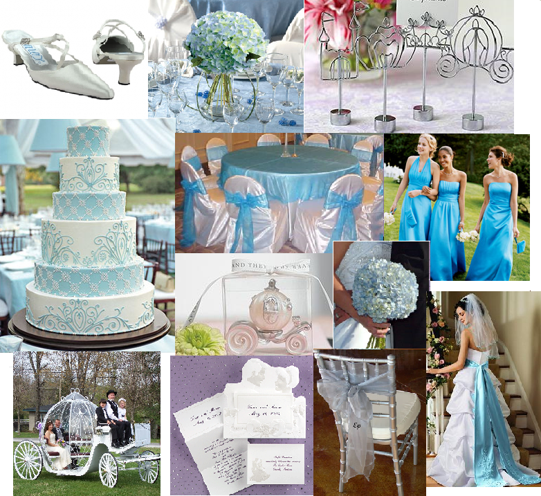 Cinderella wedding theme....don\'t love all this but inspiration ...