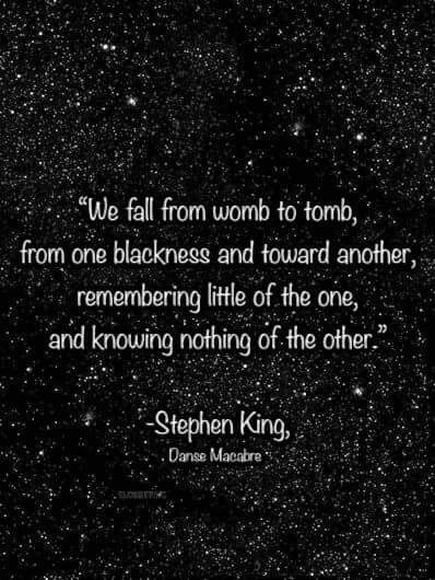 Pin By Ranckel Ap On Death Is Inevitable Stephen King Quotes King Quotes Horror Quotes