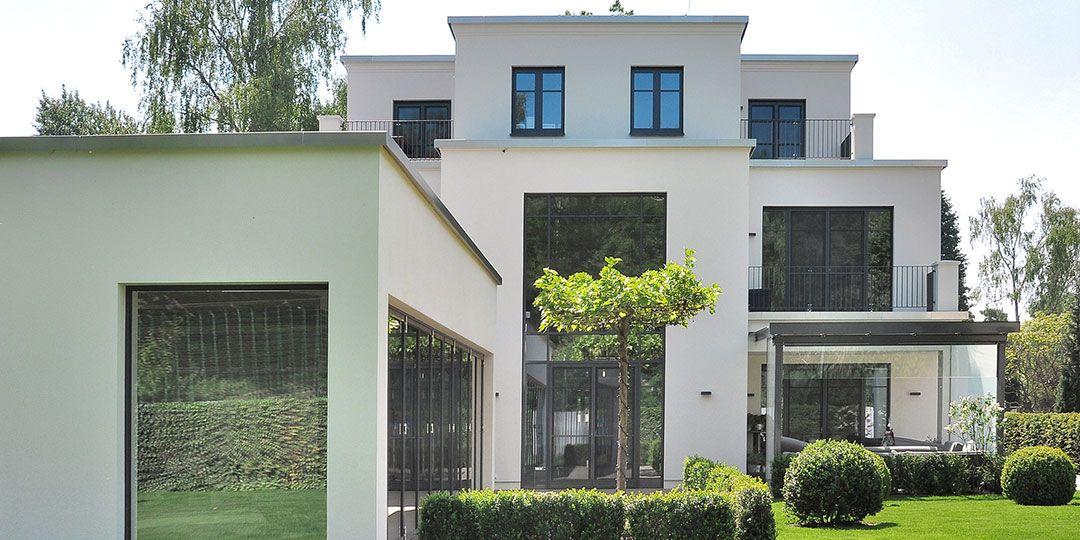 Einfamilienhaus Villa mit Pool Architektur Dresden