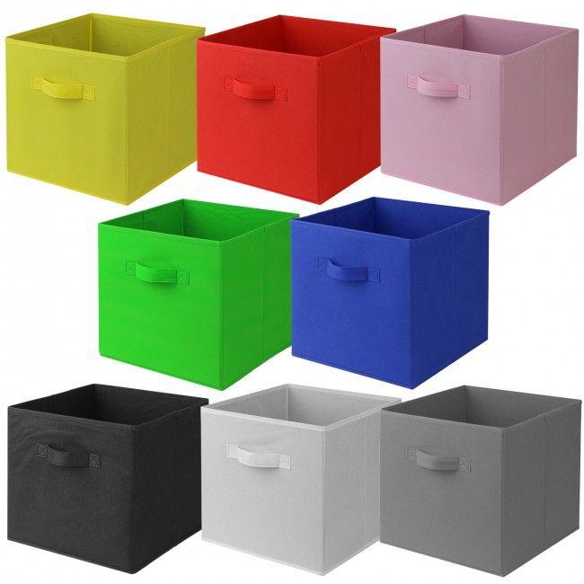 Hartleys Fabric Storage Box For 9 Cube Unit