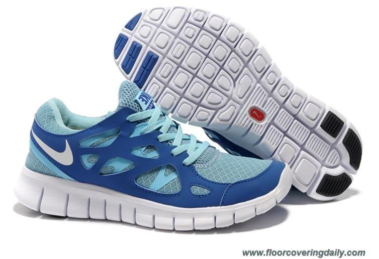 dba2f39adf6d 443816-444 Tide Pool Blue Mega Blue Pure Platinum Womens Nike Free Run 2  Outlet