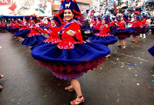 Danza De La Llamerada 100 Boliviano Carnival Kinds Of Dance Festival