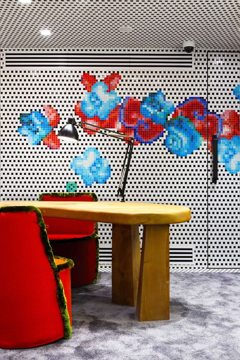 birds of a feather paola navone s design for paris jewelry shop dodo retail pinterest. Black Bedroom Furniture Sets. Home Design Ideas