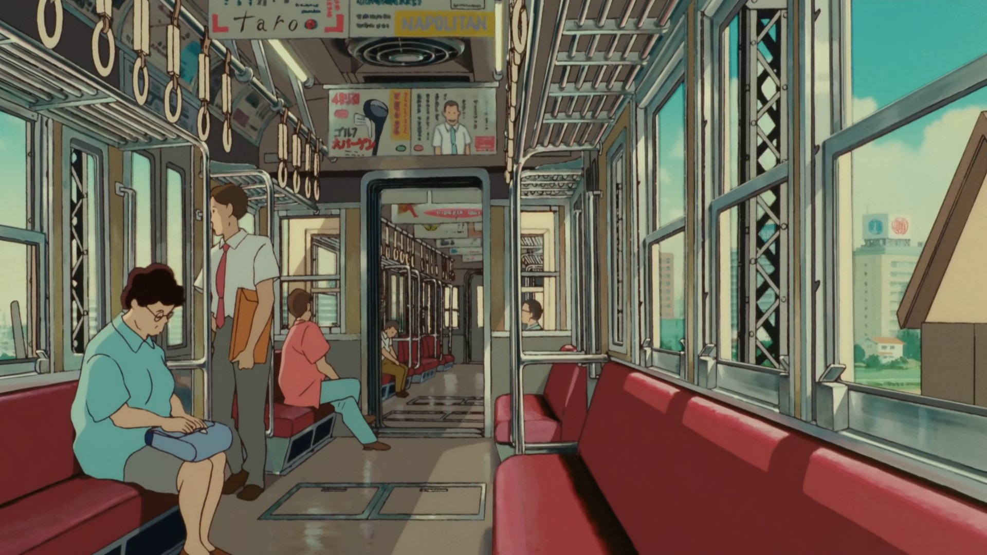 Whisper Of The Heart 1920x1080 Studio Ghibli Background Anime Scenery Studio Ghibli