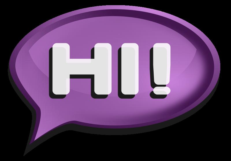 26+ Speech bubble clipart purple info