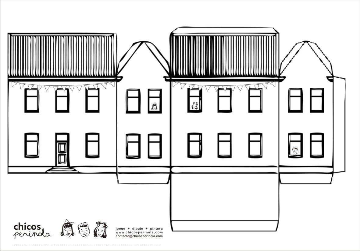 recortables de papel edificios - Buscar con Google | arte angarita ...