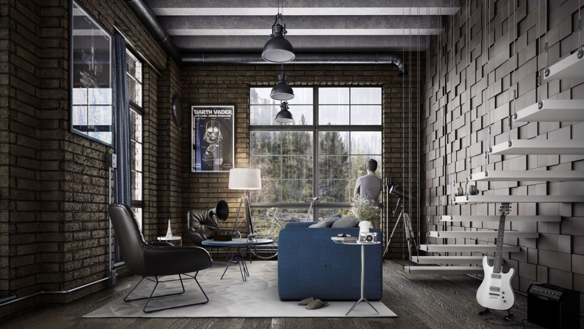Industrial Style Living Room Design The Essential Guide Industrial Style Living Room Industrial Interior Design Living Room Urban Industrial Decor