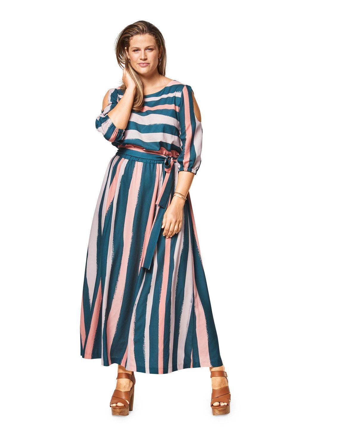 burda style, Schnittmuster, Sommerkleid F/S 20 #20A