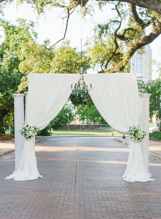 Mooie boog voor een bruiloft