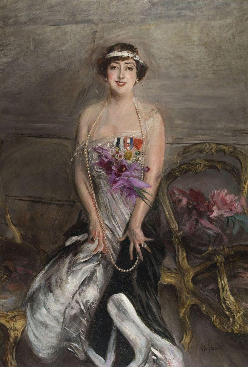 Giovanni Boldini, (1842-1931) - Madame Michelham, 1913