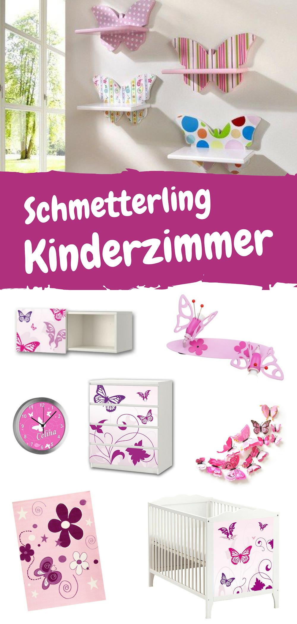 Susse Schmetterling Dekoration Fur Das Kinderzimmer Vom Schmetterling Teppich Uber Die Schmetterling Wandgestaltung Mit Schm Kinder Zimmer Kinderzimmer Kinder