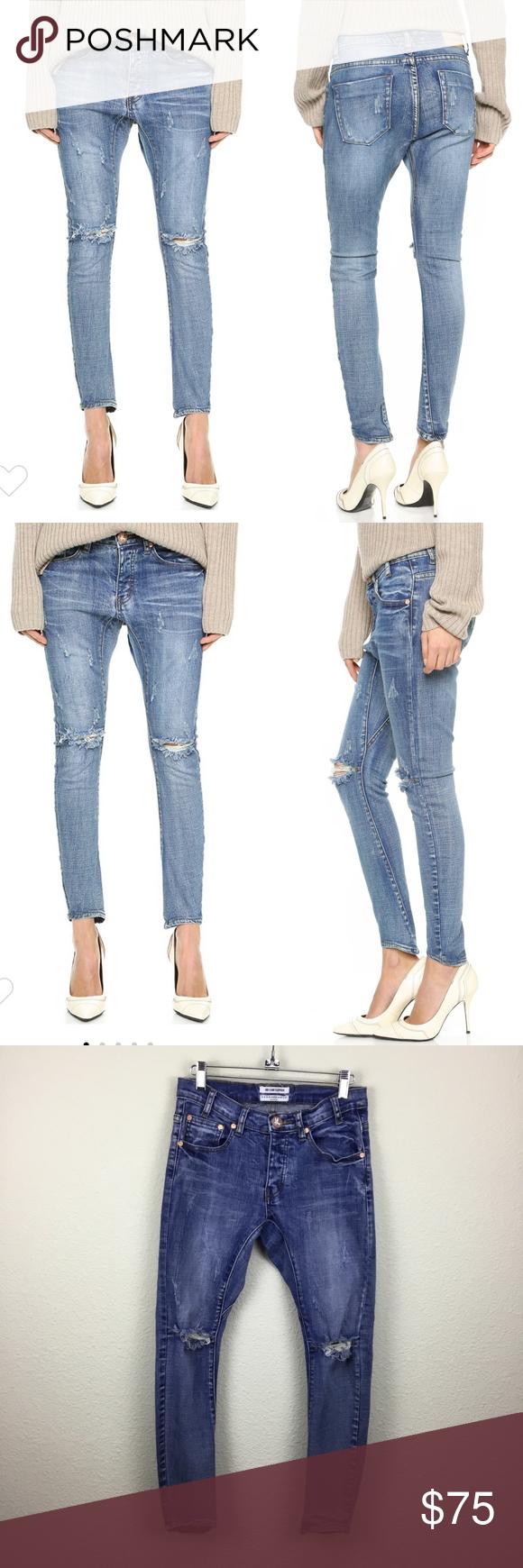One Teaspoon Desperados Jeans Distressed Size 27 Clothes Design Fashion Design Fashion Tips