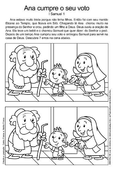 """Estudo para crianças Título: """"Ana"""" 1- Objetivo: Levar às crianças a conhecer e a usar a oração de súplicas, de clamor por um pedido. 2- Quebra-Gelo: Você já conseguiu alguma coisa da sua mãe ou de …"""