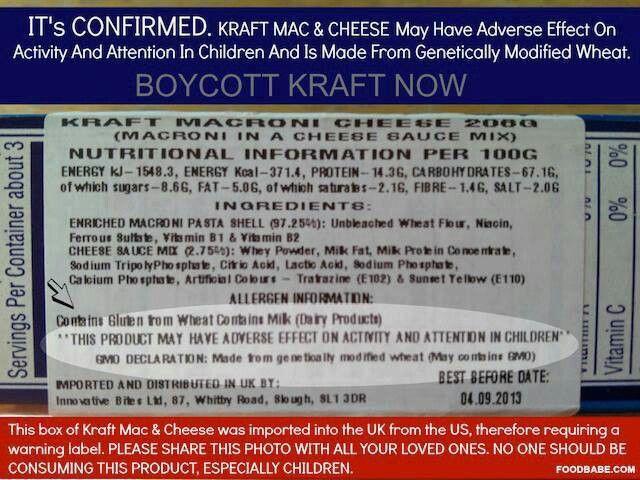 Boycott Kraft. @korin smeltzer tell ur sister