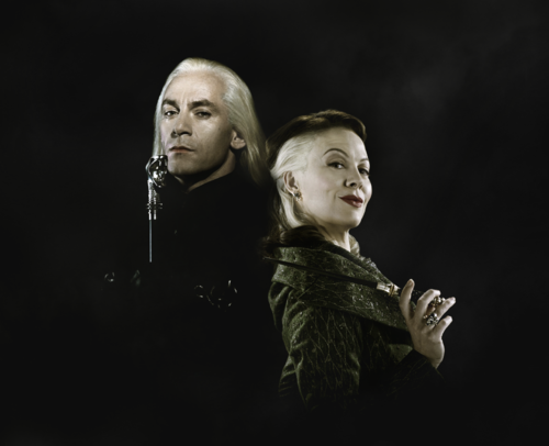 Lucius and Narcissa Malfoy. Coolest husband and wife team ...