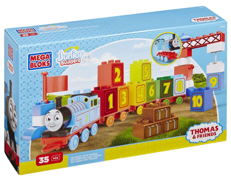 Mega Bloks Thomas Build /& Go Building Blocks Set Toy Construction NEW XMAS GIFT