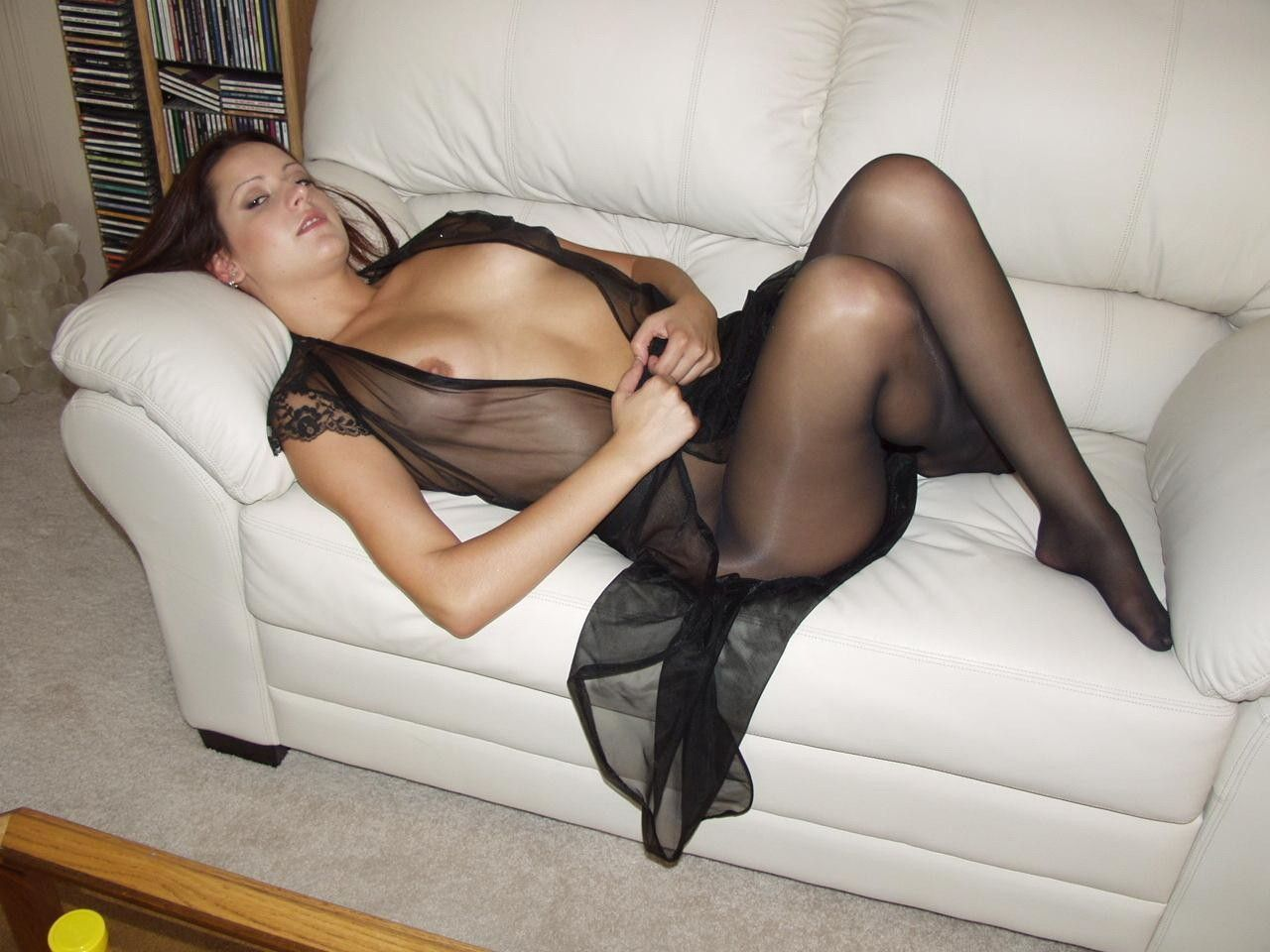 Effect Of Pantyhose Clad Legs 6