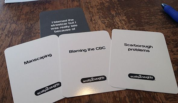 cards against humanity toronto merchto toronto and