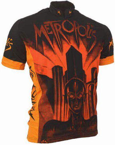 Amazon.com  Retro Metropolis Men s Cycling Jersey (Small)  Sports   Outdoors d4491b228