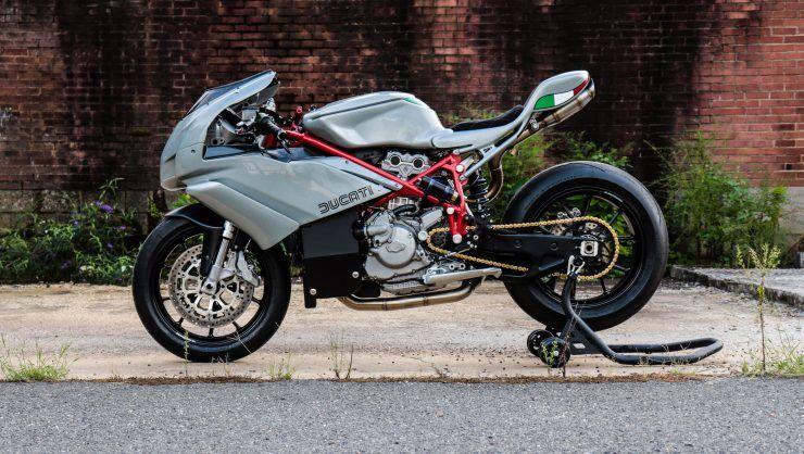 The Jett Design X Motorelic Ducati 749 Custom Racer Ducati 749 Ducati Sports Bikes Motorcycles
