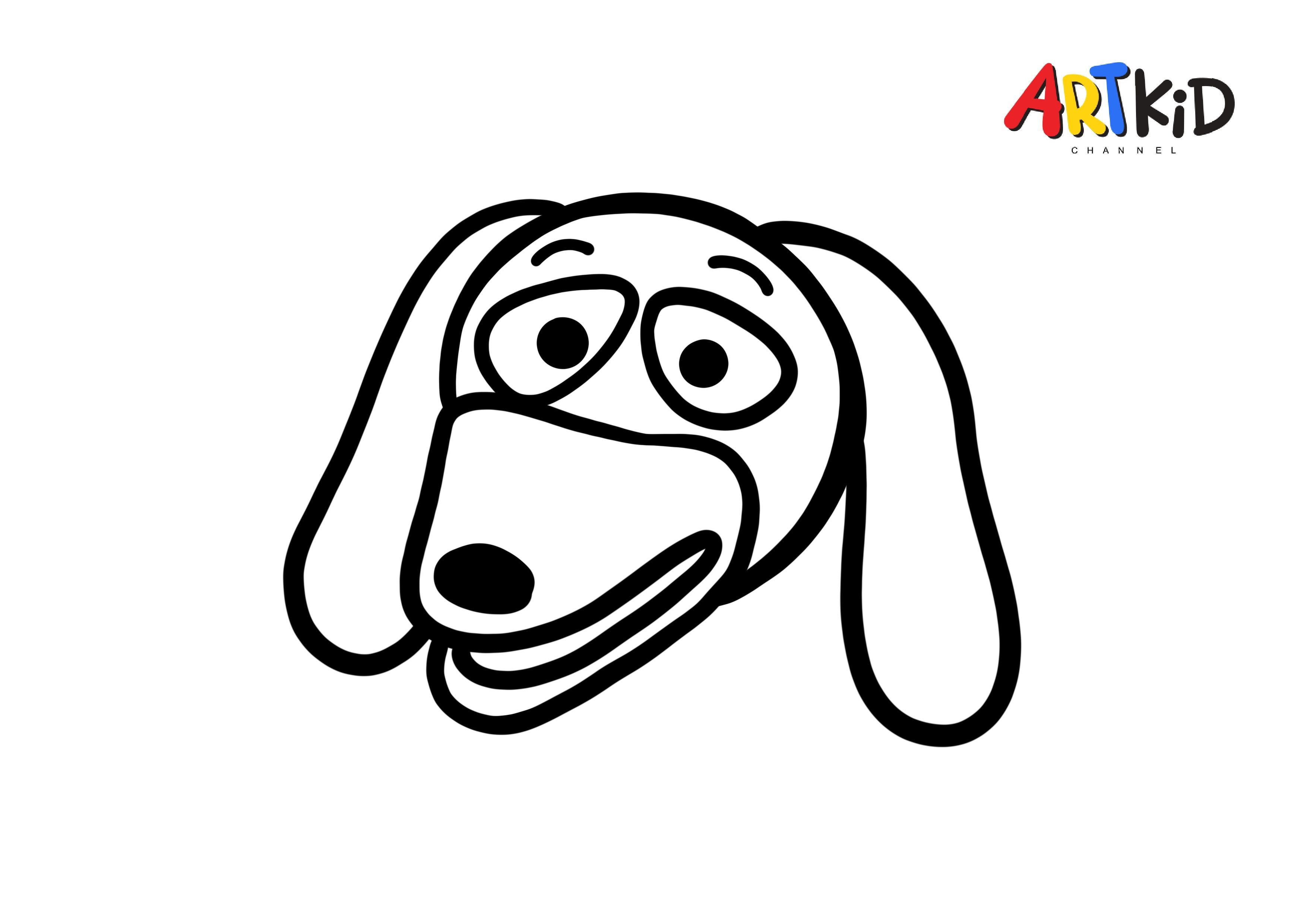 Slinky Dog Toy Story Drawing Free Printable Coloring Pages