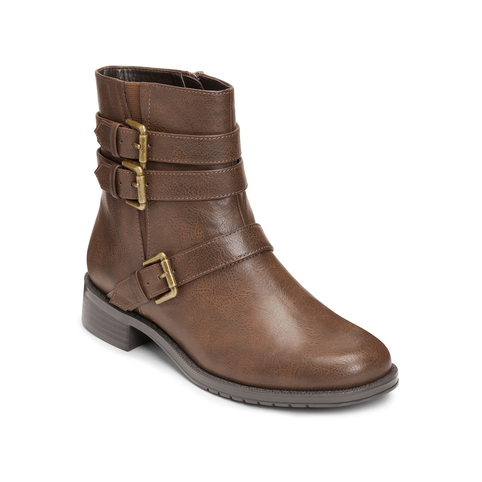 Womens Boots Aerosoles Long Stride Brown