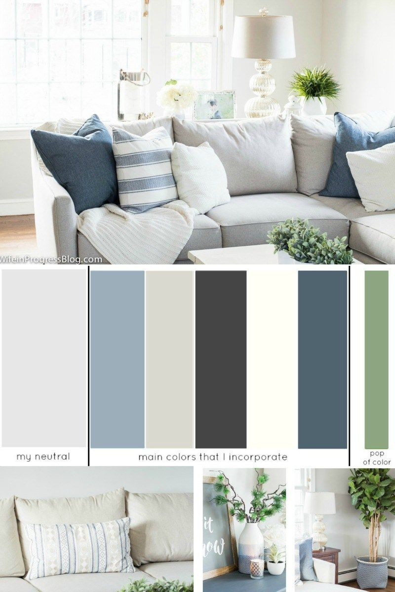 How To Choose A Whole House Color Scheme Palette For The Home Decor Colors