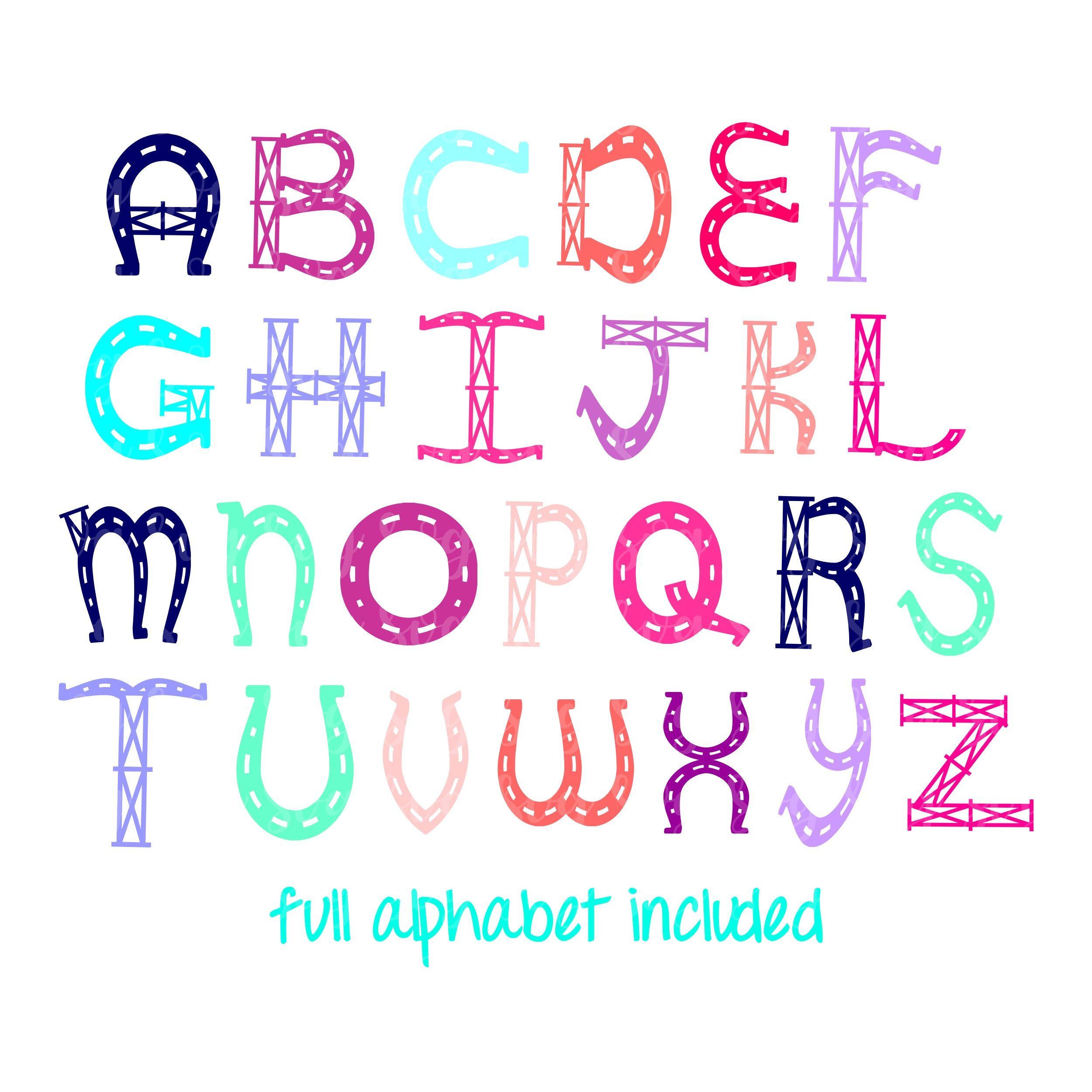Instant Download Monogram font FARMHOUSE FONT dxf eps jpg png svg Rustic Farm house Letters Digital Cut File