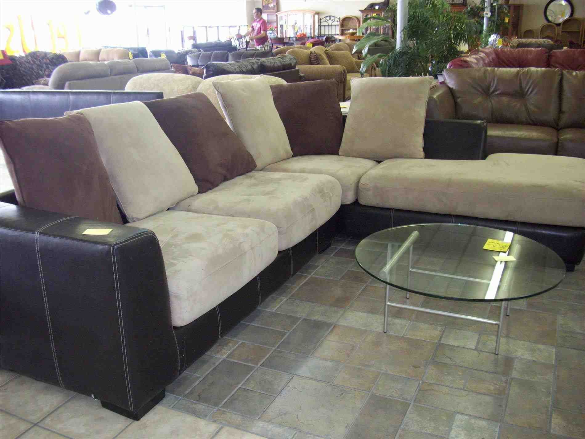 Cheap Sectionals Nj   Cream Sectional With Marble Coffee Table U2013 Furniture  And Home Decor U2013 Once And Again Consignment U2013 Madison Montville Nj.  Signature ...