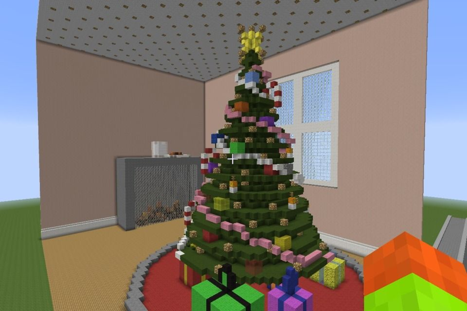Diy Org Online Courses And Fun Projects For Kids Minecraft Christmas Minecraft Christmas Tree Fun Projects For Kids