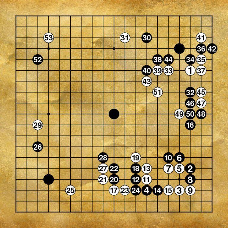 Classic Go Games Xu Xingyou Vs Huang Longshi The Of Blood And Tears