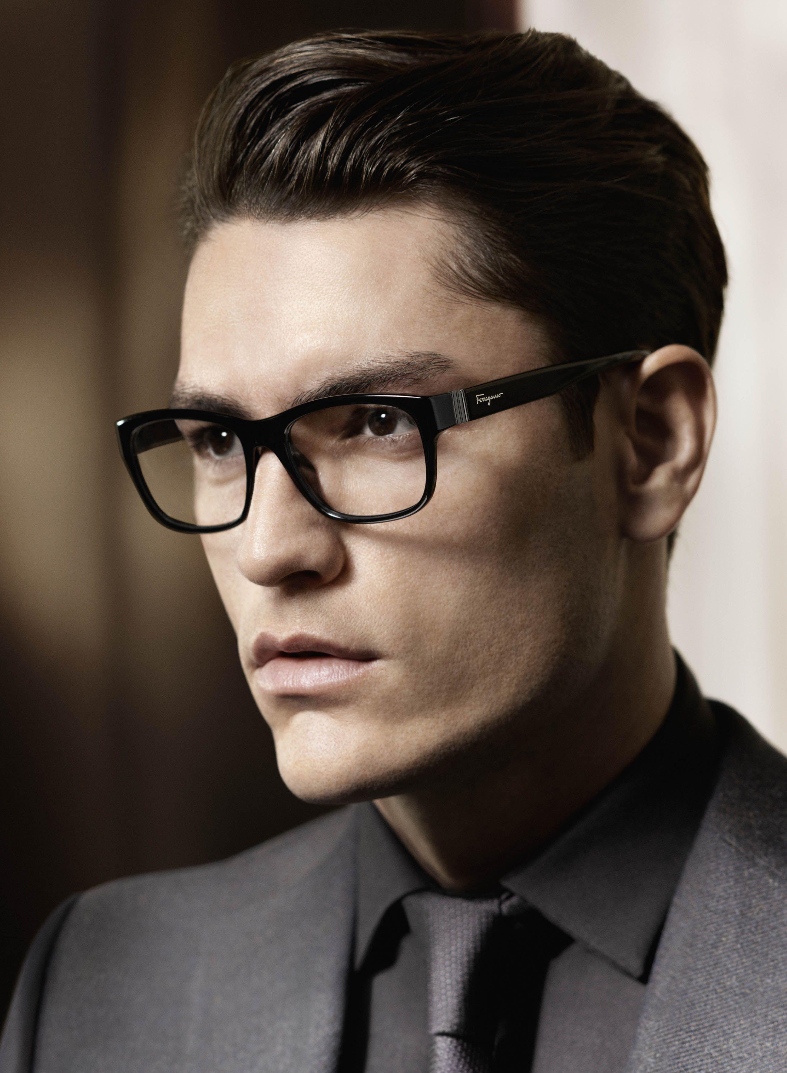 Salvatore Ferragamo Men S Glasses Fw 2013 Ad Campaign Mens