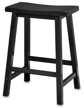 Swell Bed Bath Beyond 24 Inch Saddle Stool In Black Products Creativecarmelina Interior Chair Design Creativecarmelinacom