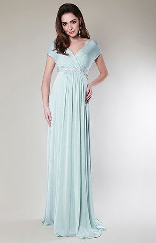 Alessandra Gown Long | Tiffany rose, Maternity gowns and Breeze