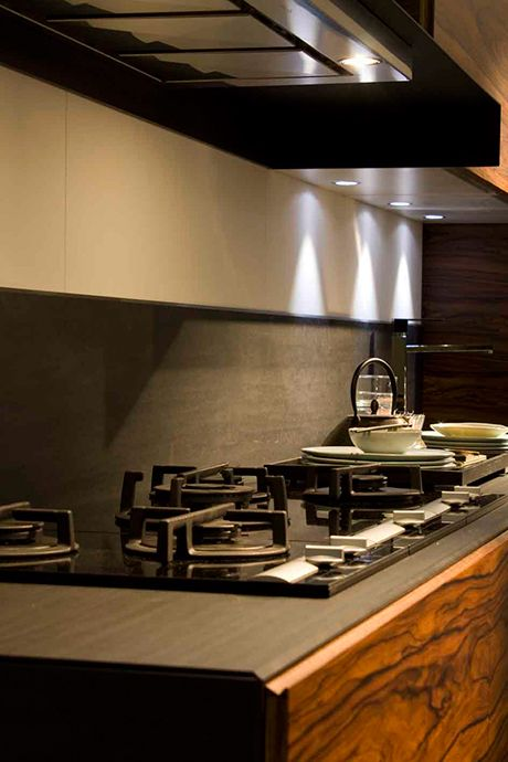 """Recycled paper countertops in the color """"gunmetal ..."""
