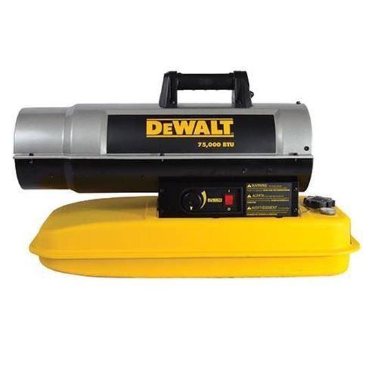 Dewalt Portable Forced Air Kerosene Heater, DXH75KT ...