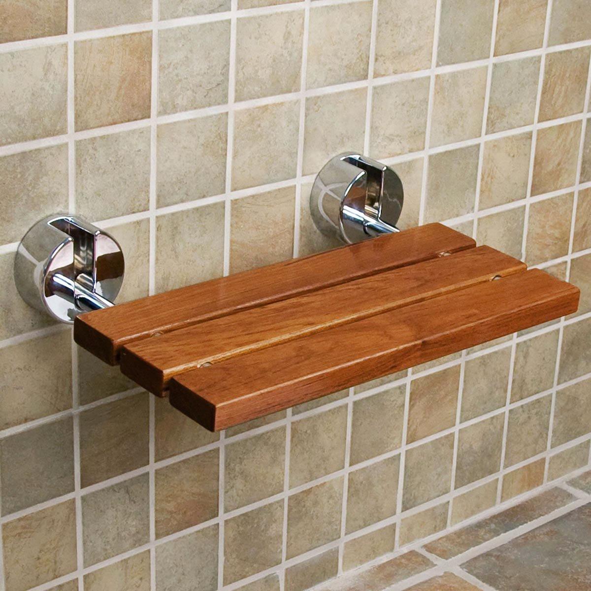 teak modern folding shower seat bench also benches