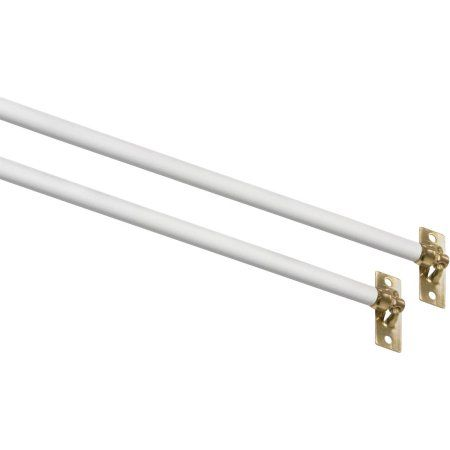 Home Curtain Rods Mainstays Swivel