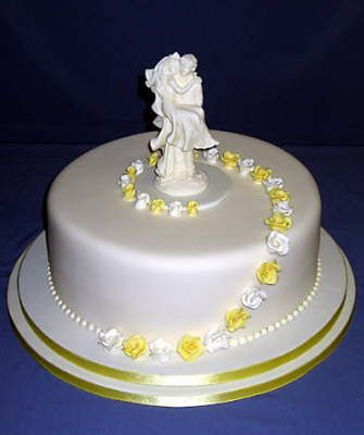 Pics For Simple Wedding Cakes 1 Tier Sweets Wedding Cakes One