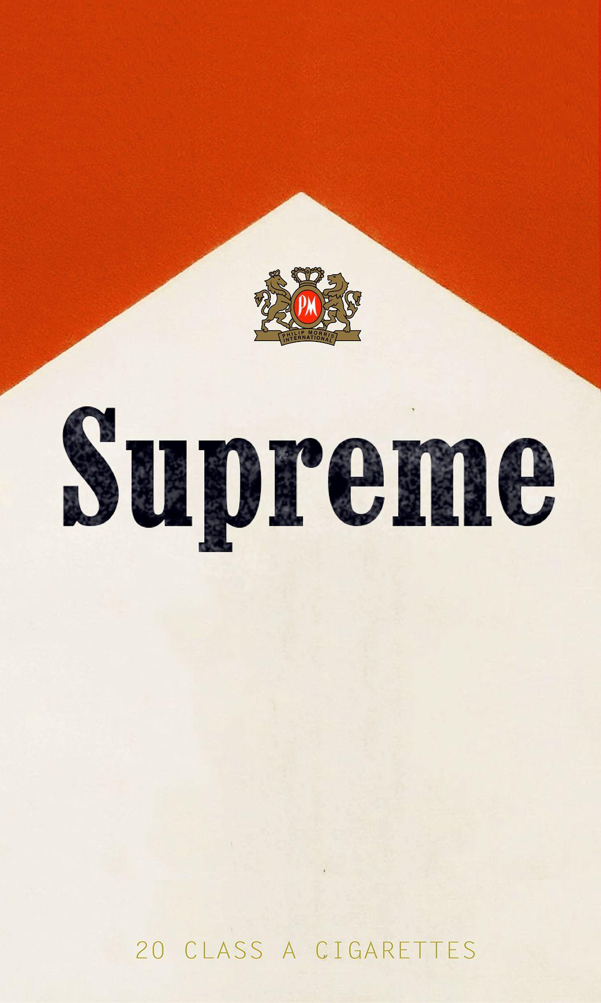 Marlboro x Supreme (2016) | Supreme | Pinterest ...