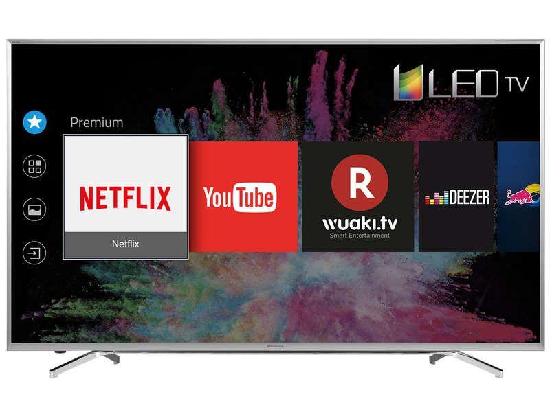 Televiseur Ecran Plat 163 Cm Uhd 4k Hisense H65m7000 Televiseur
