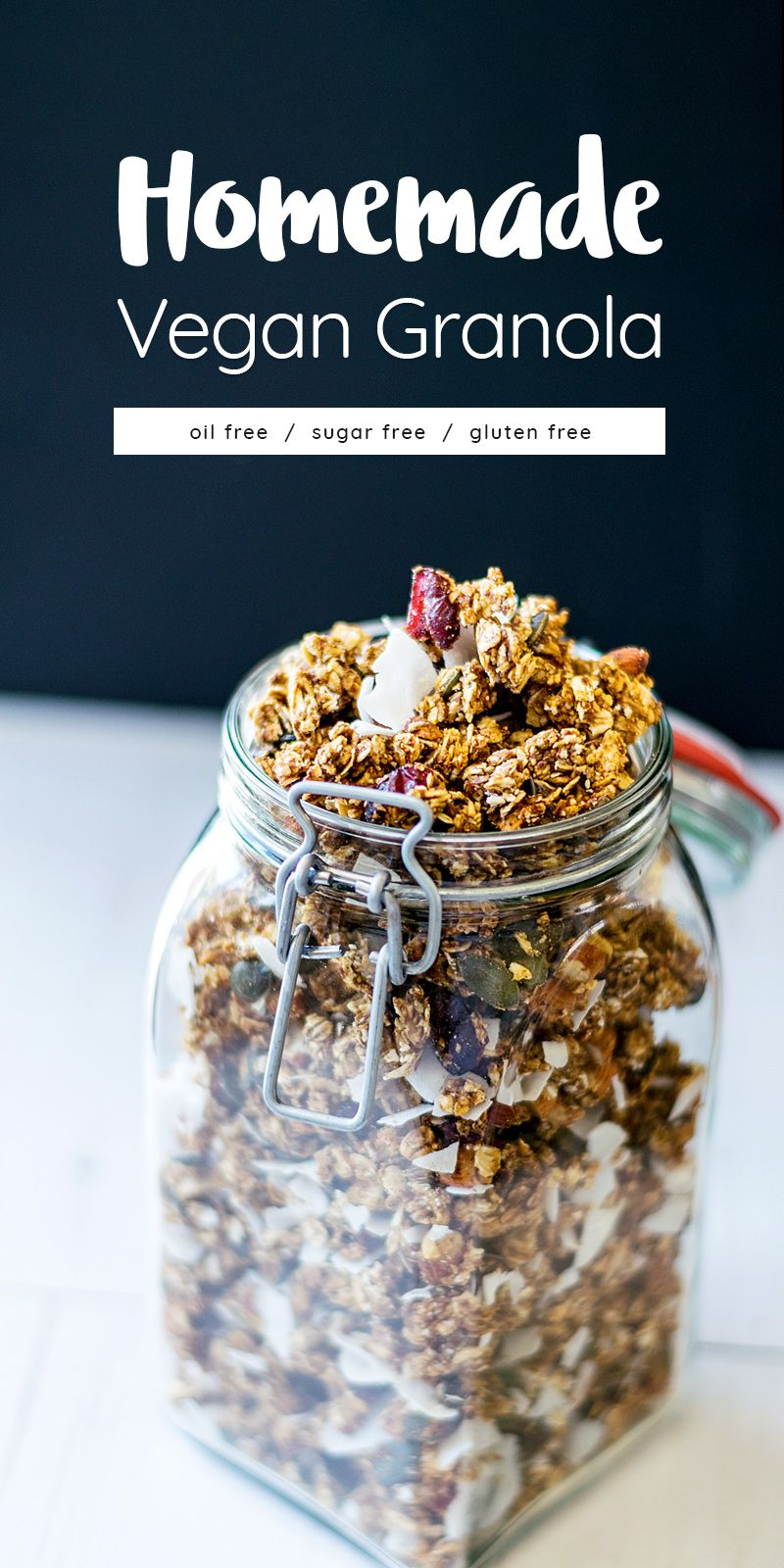 Oil Free Refined Sugar Free Vegan Homemade Granola Its