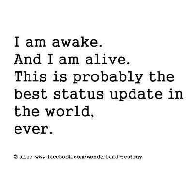 I Am Awake And I Am Alive Anonymous Art Of Revolution Quotes To