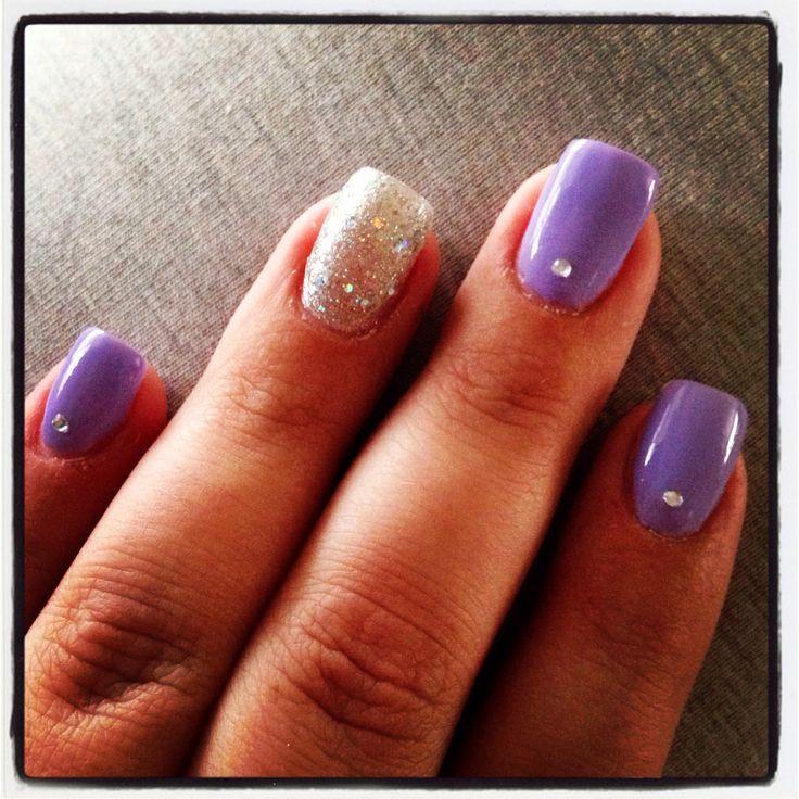 Short Nails With Diamonds - http://www.mycutenails.xyz/short-nails ...