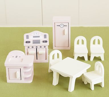 Pottery Barn Kids Dollhouse Kitchen On Sale With Free Shipping